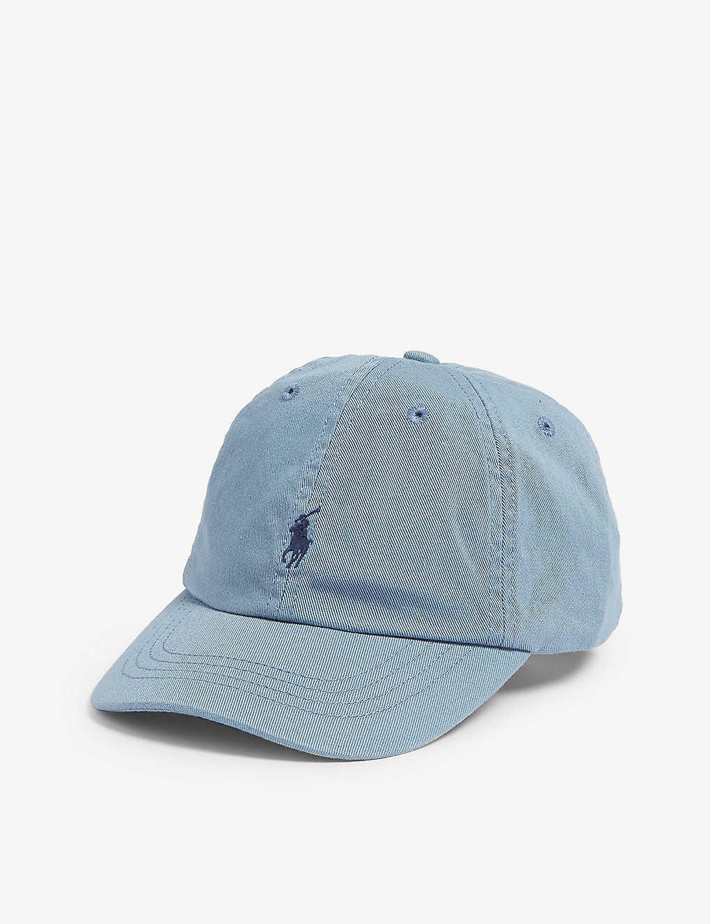 3170f1b1 RALPH LAUREN - Embroidered-logo cotton chino baseball cap ...