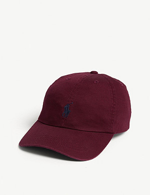 RALPH LAUREN Logo cotton cap