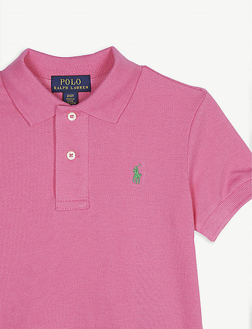 d21cab128 RALPH LAUREN Pony custom fit short-sleeve polo shirt 2-4 years