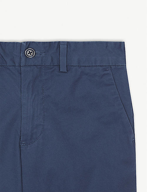 RALPH LAUREN Slim-fit chino shorts 2-16 years