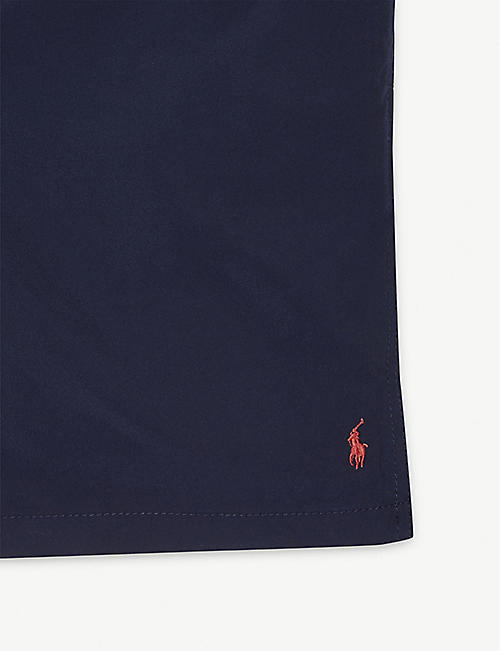 RALPH LAUREN Logo-embroidered swim shorts 2-7 years