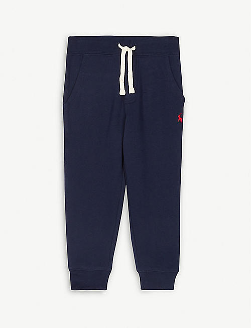 5ca8f3fbd10cd RALPH LAUREN Cotton-fleece jogging bottoms