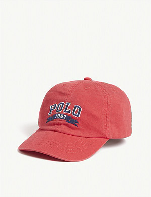 RALPH LAUREN Cotton canvas cap
