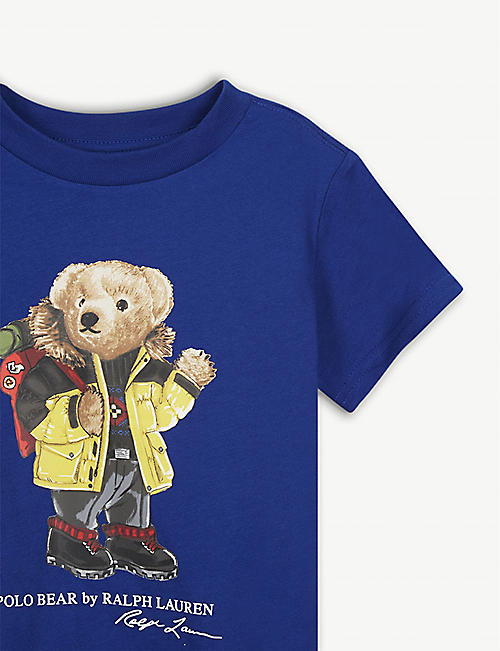 RALPH LAUREN Polo Bear hiking T-shirt