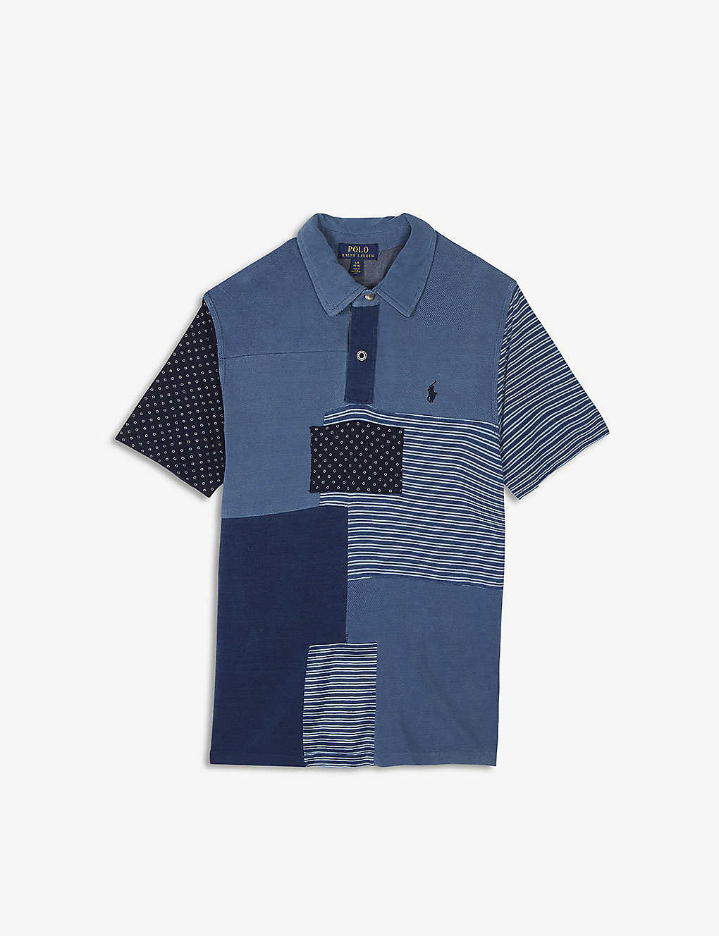 dc66cca4e3 RALPH LAUREN - Patchwork cotton polo shirt 6-14 years | Selfridges.com