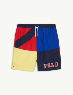 RALPH LAUREN Captiva flag swimming shorts 6-14 years