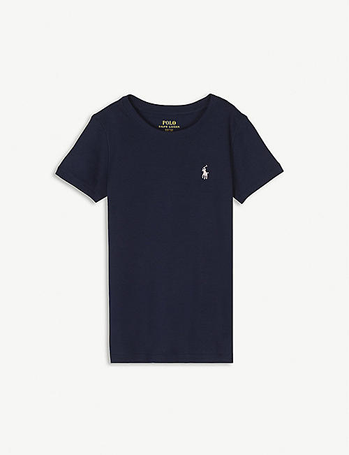 RALPH LAUREN Logo cotton T-shirt 2-16 years