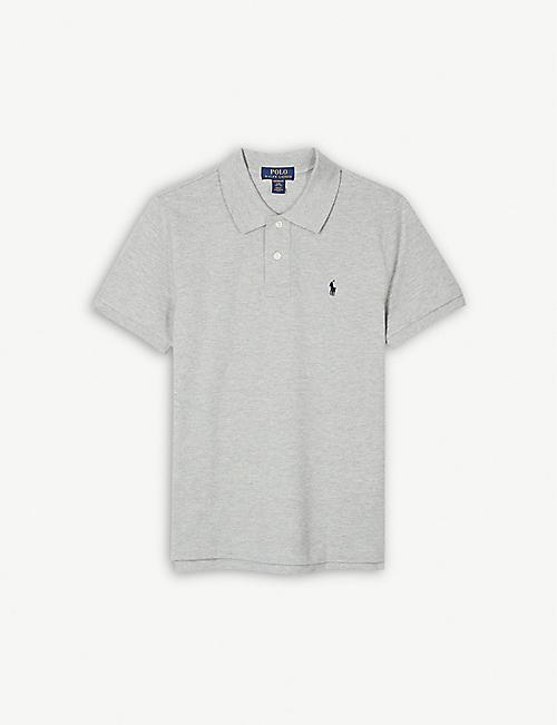 2a46d2306 RALPH LAUREN Logo custom fit cotton polo shirt 4-14 years
