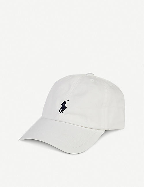 RALPH LAUREN Logo-embroidered cotton baseball cap 1.5 - 6 years