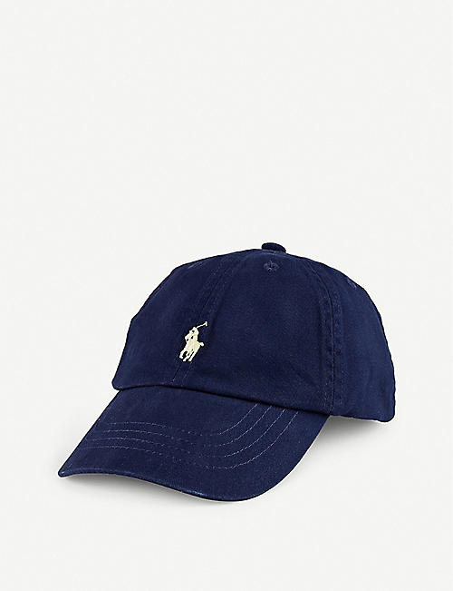 RALPH LAUREN: Kids embroidered-logo cotton baseball cap 2-4 years