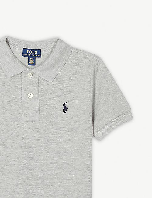 3c116edfd RALPH LAUREN Logo cotton polo shirt 4-14 years