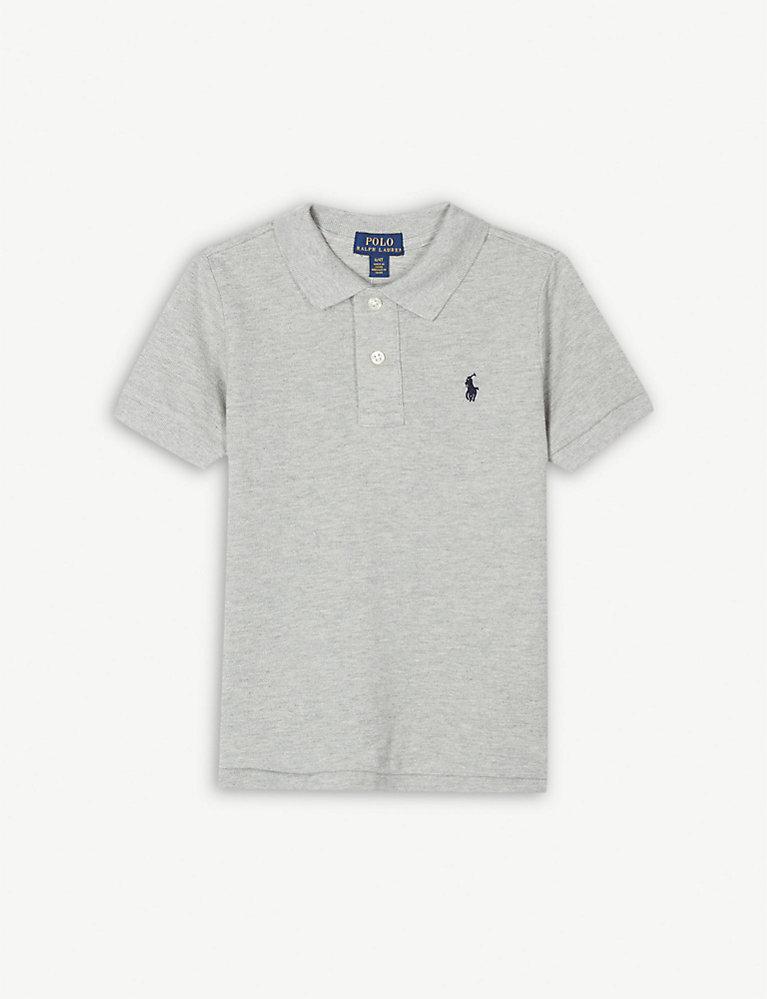 a0735c1f358 RALPH LAUREN - Logo cotton polo shirt 4-14 years | Selfridges.com