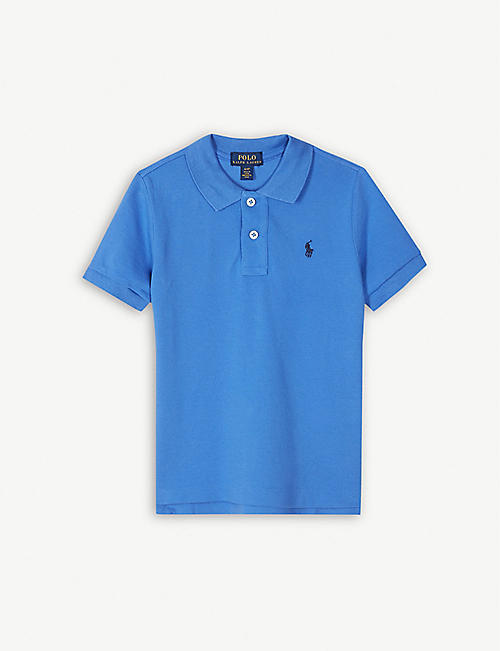 4f76ea3c78d RALPH LAUREN Logo cotton polo shirt 4-14 years