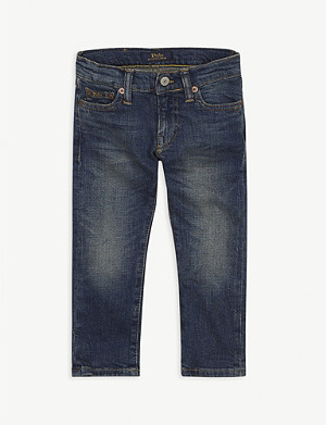 RALPH LAUREN Sullivan cotton-blend slim leg jeans 4-14 years