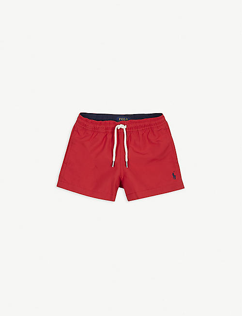 RALPH LAUREN Logo swimming shorts 4-14 years