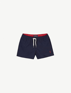 RALPH LAUREN Logo swim shorts 4-14 years