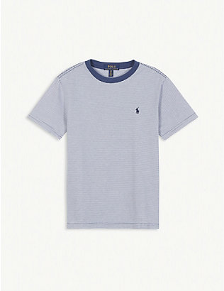 RALPH LAUREN: Breton stripe cotton T-shirt 2-14 years