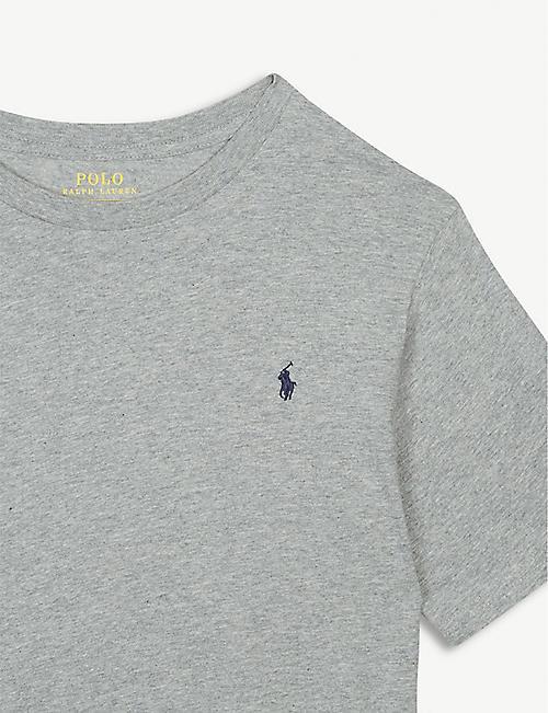 0a161050c3565 RALPH LAUREN Logo cotton T-shirt 6-14 years