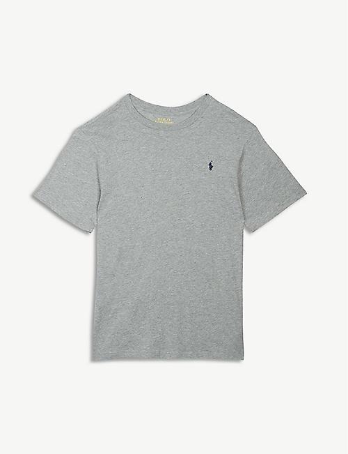 d93139ed14b0 RALPH LAUREN Logo cotton T-shirt 6-14 years