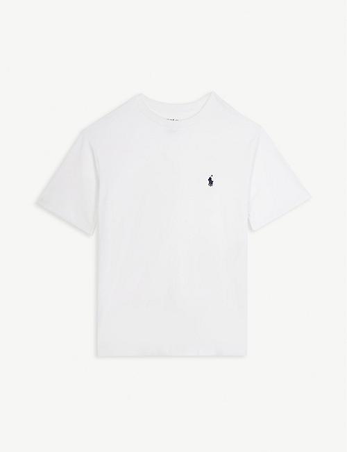 RALPH LAUREN Logo cotton T-shirt 6-14 years 19a72b092272