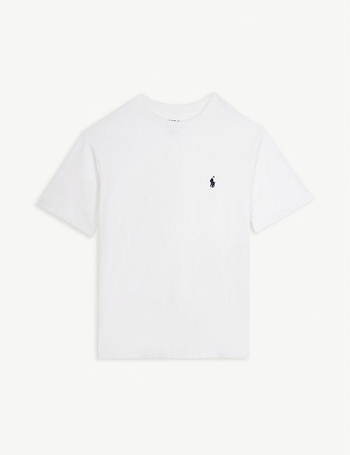 RALPH LAUREN Logo cotton T-shirt 6-14 years 46ffc53ef751b