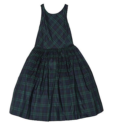 df4bb0508 RALPH LAUREN - Tartan silk dress 7-16 years