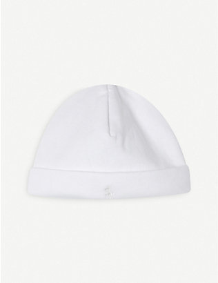 RALPH LAUREN: Kids cotton beanie