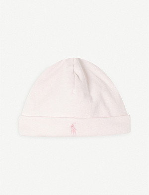RALPH LAUREN Cotton beanie