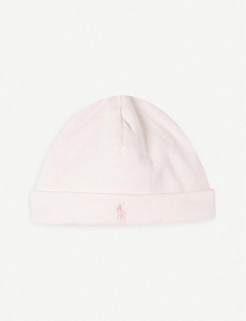 RALPH LAUREN: Cotton beanie