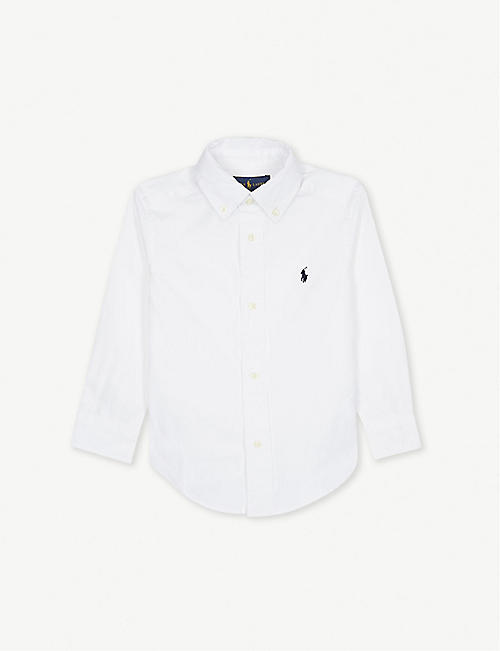749b3231c2ab RALPH LAUREN Blake logo-detail cotton shirt 2-4 years