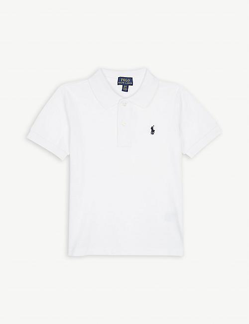 cbb69e62 RALPH LAUREN Classic cotton-piqué polo shirt 2-4 years