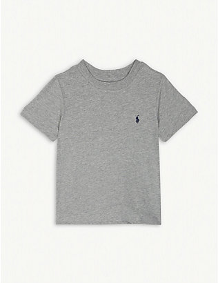 RALPH LAUREN: Logo-detail cotton-jersey t-shirt 2-4 years