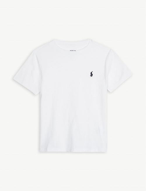 e3aa917b38dd7 RALPH LAUREN Logo-detail cotton-jersey t-shirt 2 - 4 years