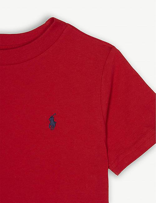 3aca9d7a RALPH LAUREN Logo-detail cotton-jersey t-shirt 2-4 years