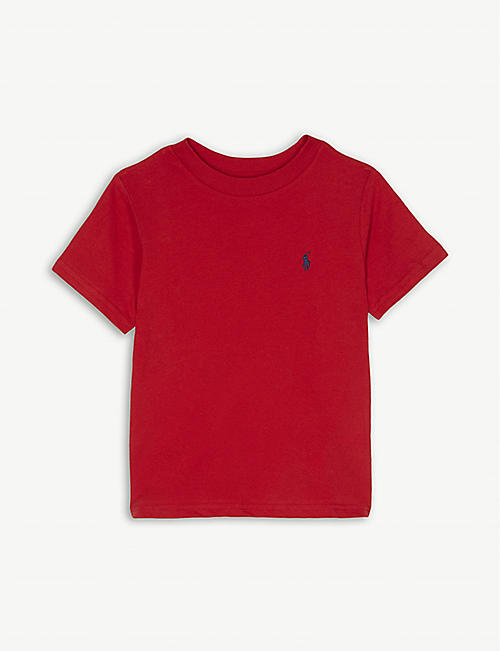RALPH LAUREN Logo-detail cotton-jersey t-shirt 2-4 years