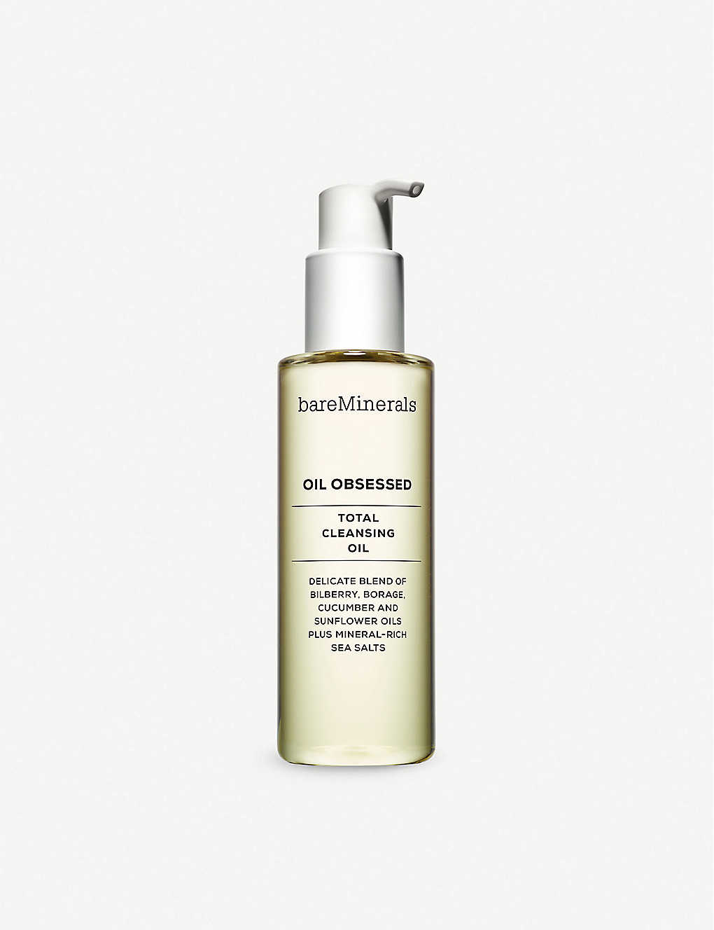 BARE MINERALS: OIL OBSESSED™ oil cleanser 175ml