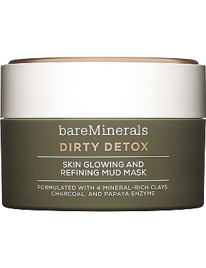 BARE MINERALS Dirty Detox Skin Glowing And Refining Mud Mask 58g
