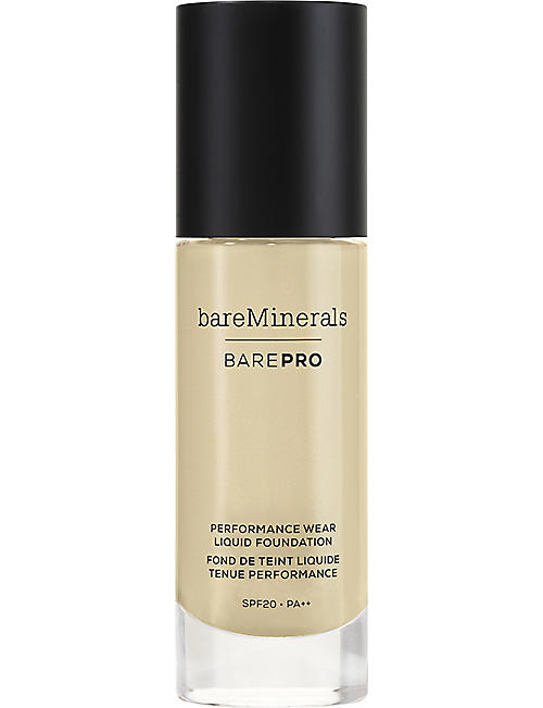 BARE MINERALS BAREPRO 24-Hour Full Coverage Liquid Foundation SPF20 30ml