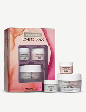 BARE MINERALS Be Pure and Be Dewy: Love to Mask set