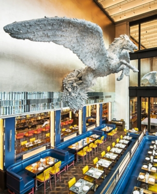 Brasserie of Light Pegasus Damien Hirst