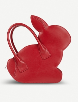 COMME COMME DES GARCONS Rabbit faux-leather tote bag