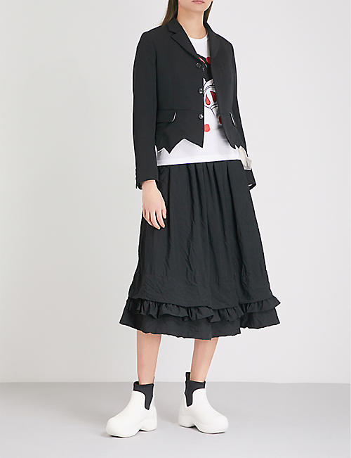 COMME COMME DES GARCONS Snow White print cotton-jersey T-shirt