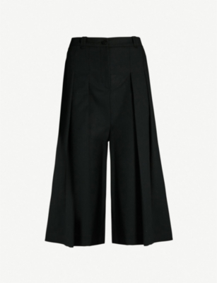 MCQ ALEXANDER MCQUEEN Atami high-rise pleated wool trousers