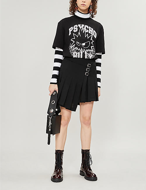 MCQ ALEXANDER MCQUEEN Psycho Billy cotton-jersey T-shirt