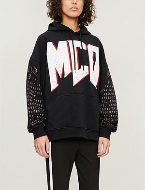 MCQ ALEXANDER MCQUEEN - Acid House jersey sweatshirt   Selfridges.com a943234206f