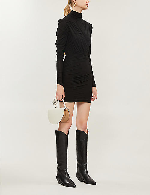 ISABEL MARANT Jisola stretch-crepe dress