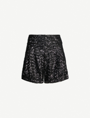 ISABEL MARANT Orta sequinned high-rise shorts