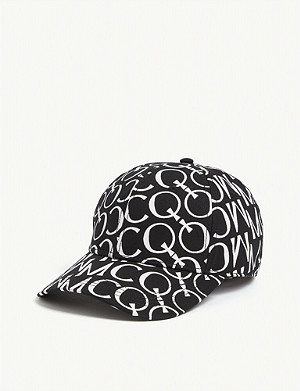 MCQ ALEXANDER MCQUEEN All-over logo cotton cap