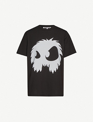MCQ ALEXANDER MCQUEEN Monster-print cotton-jersey T-shirt