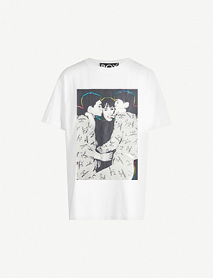 BOY LONDON Fierce Love cotton-jersey T-shirt